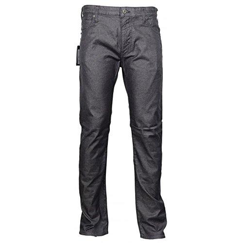 Armani Jeans 8N6J45 Slim Fit J45 Grey Shine Jeans W34'' - L30'' Grey Shine by ARMANI JEANS