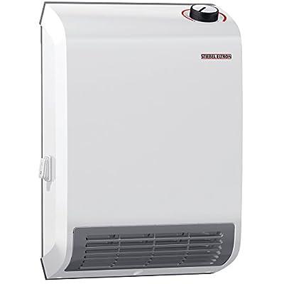 Stiebel Eltron 236304 CK Trend Wall-Mounted Electric Fan Heater, 1500W, 120V