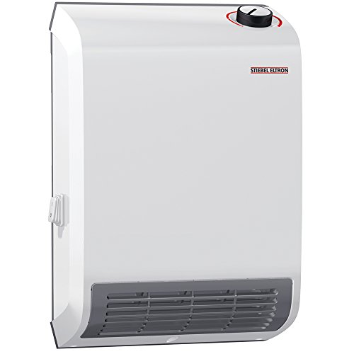 Stiebel Eltron 236304 CK Trend Wall-Mounted Electric Fan Heater, 1500W, 120V (Ceramic Heater Wall Mount)