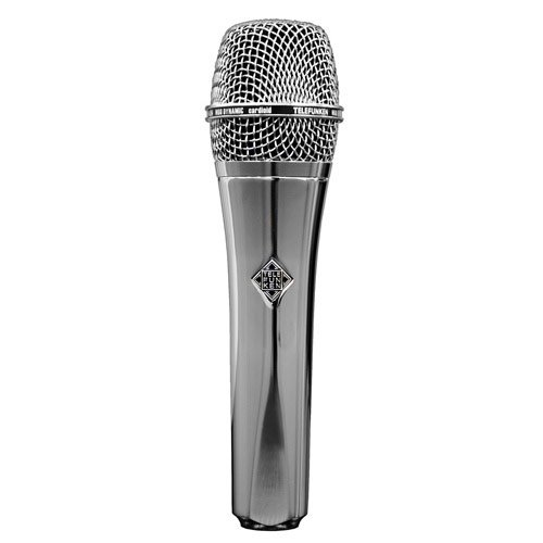 Telefunken USA Custom Shop M80 Chrome Dynamic Microphone by Telefunken