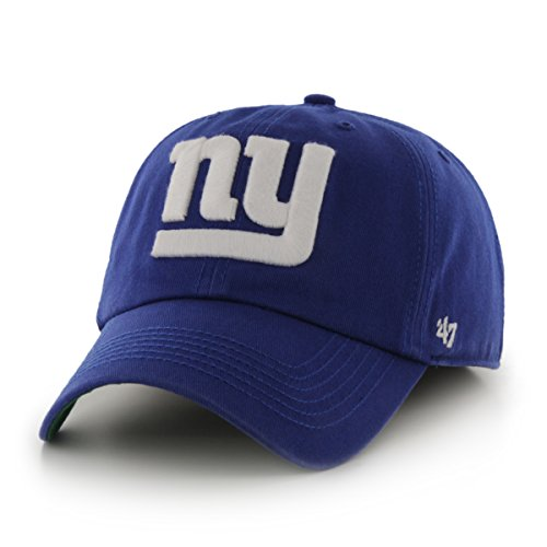 NFL New York Giants '47 Brand Franchise Fitted Hat, Royal, Small (Fitted Logo Roll)