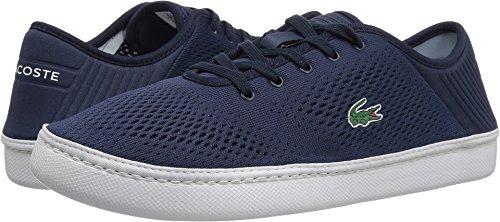 Lacoste Men's L.ydro Lace Sneakers,NVY/White Textile,9.5 M (Lacoste Mens Lace)