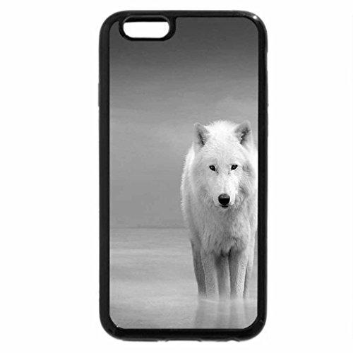 iPhone 6S Plus Case, iPhone 6 Plus Case (Black & White) - No Friend here