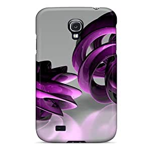 Galaxy S4 Cover Case - Eco-friendly Packaging(spirals 3d)