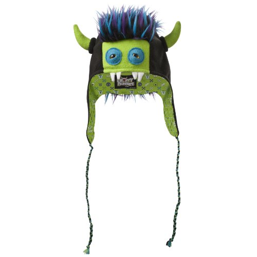 Beasty Buddies Zeppelin Fleece Monster Hat Large Blue (Blue Beasty Teen Costumes)