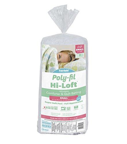 - Fairfield Poly-Fil Hi-Loft Polyester Quilt, 45
