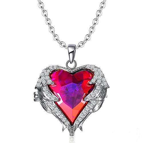 Fashion Drop Pendant Crystal Necklace For Women