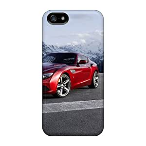 High Quality FsW950hCaD Front Of Red Bmw Z4 Zagato Tpu Case For Iphone 5/5s