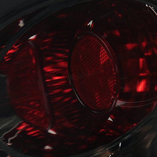 VW Beetle Black Halo LED Projector Headlights+Smoke Rear Tail Brake Lights by Spec-D Tuning (Image #6)