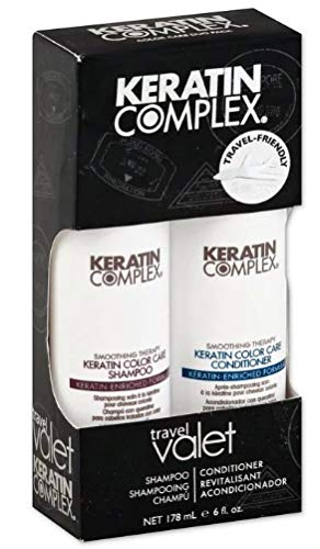 Keratin Complex Color Care Shampoo 3oz & Conditioner 3oz Travel Valet ()