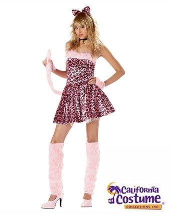 Tween Costumes Leopard (Purrty Kitty Costume Teen)