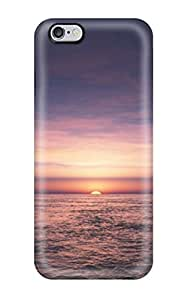 Fashion Tpu Case For Iphone 6 Plus- Sunrise Defender Case Cover