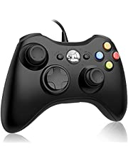Ainoibo Xbox 360 Wired Controller for Microsoft Xbox 360 and Windows PC (Windows 10/8.1/8/7) Game Controller with Dual Vibration and Ergonomic