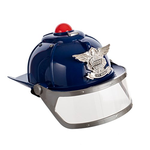 [The city of heroes Police Helmet with lights and sirens] (Police Chief Child Hat)