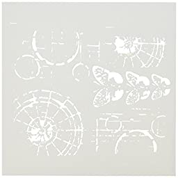 CRAFTERS WORKSHOP Crafters Workshop Template, 6 by 6-Inch, Specimens
