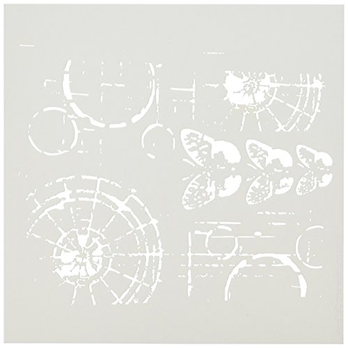 CRAFTERS WORKSHOP Crafters Workshop Template, 6 by 6-Inch, Specimens (Crafters Workshop Stencil)