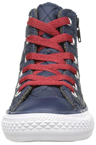 Converse All Star Hi Side Zip Tex - C2 -  para hombre Nighttime Navy/Chillipaste Qui