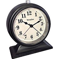 WESTCLOX 75042 Analog Tabletop Alarm Clock