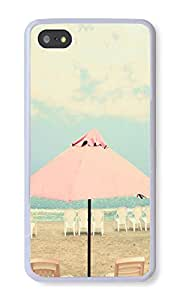 Iphone 5S Case Summer Cell Phone Case For Iphone 5S TPU White Phone Soft Case