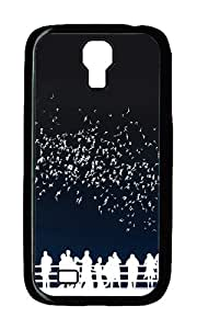 Samsung S4 Case,VUTTOO Cover With Photo: Abstract Austin Texas Nightlife For Samsung Galaxy S4 I9500 - PC Black Hard Case