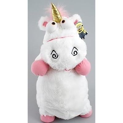 "2013 Universal Despicable Me 3D Ride Agnes Fluffy Unicorn Pillow Plush Large 22"" Size: Toys & Games"