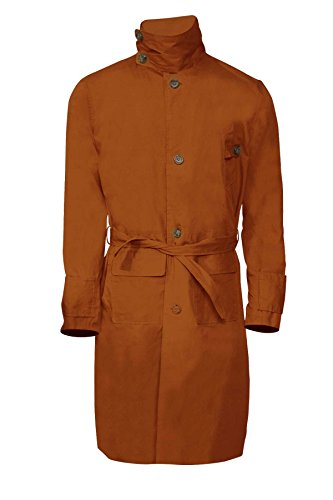 Rick Deckard Harrison Ford Replicant Hunter Cotton Trench Coat Costume Jacket - Halloween Sale Discount Deal