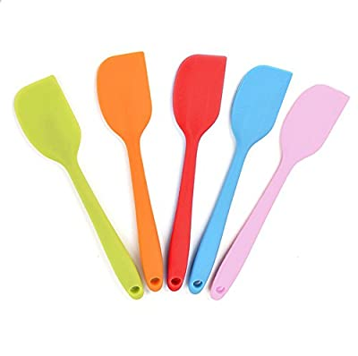 Cooking Utensils - Silicone Kitchen Set in Hygienic Solid Coating - Heat Resistant Baking Tools