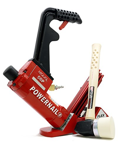 Powernail model 50PFLEXW 18ga Pneumatic L Cleat Flooring Nailer