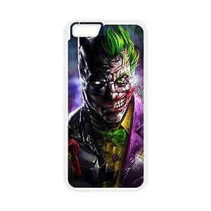 iPhone 6 Plus 5.5 Inch phone case White Batman Joker MMWW7120520