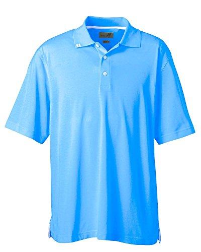 Ashworth Knit Shirt - Ashworth 1139 Men's EZ-Tech Piquà Polo-Short Sleeve Polo-Small-Blue
