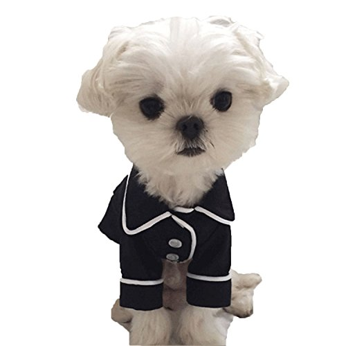 - ANTOINETTE HAAS Soft Dog Pajamas Pet Clothing for Small Medium Dogs Clothes Coat Jacket Bulldogs Clothes Teddy