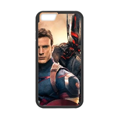 Avengers Age Of Ultron coque iPhone 6 4.7 Inch Housse téléphone Noir de couverture de cas coque EBDOBCKCO12160