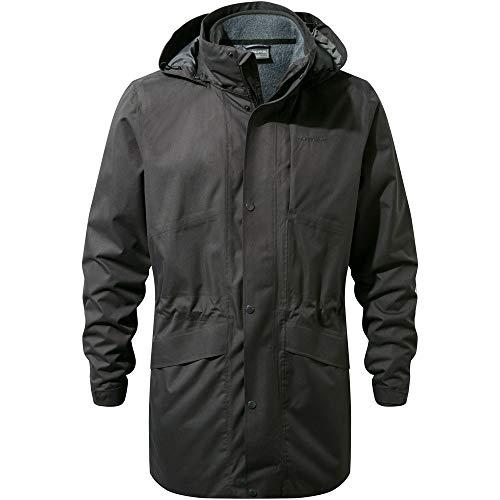 in Greymarl large Craghoppers Herston nbsp;– mid nbsp;jacket 3 nbsp;blackpepper X 1 ERnw8f7q