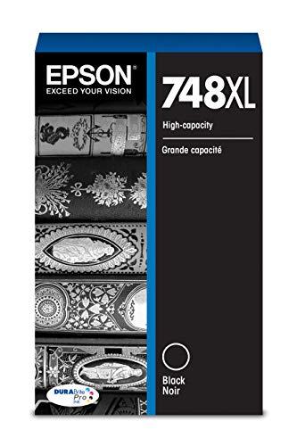 - Epson DURABrite Pro T748XL120 Ink Cartridge - High Capacity Black