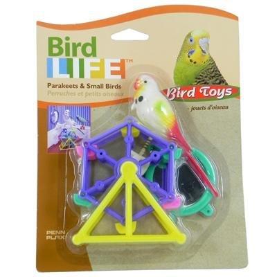 Penn Plax Playpack Ferris Wheel Bird Toy