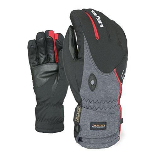 Level Alpine Gloves - Medium/Red