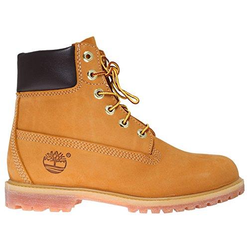 """Timberland Women's 6"""" Premium Boot - Wheat Nubuck - 8 D -..."""