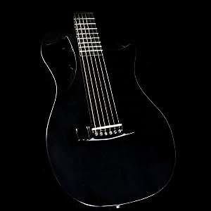 journey instruments of660 carbon fiber acoustic electric guitar black musical. Black Bedroom Furniture Sets. Home Design Ideas