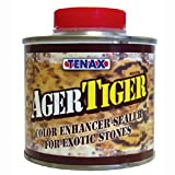 Tenax Tiger Ager Color Enhancing Granite Sealer, Marble & Stone Sealer - 1/4 Liter