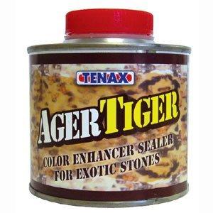 Tenax Tiger Ager Color Enhancing Granite Sealer, Marble & Stone Sealer - 1/4 Liter by Tenax