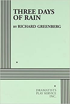 Book Three Days of Rain - Acting Edition by Richard Greenberg (1998)