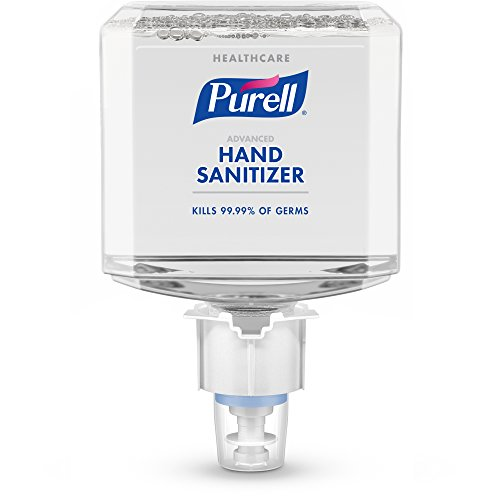 PURELL ES4 Healthcare Advanced Hand Sanitizer Foam Refill, 1200mL Sanitizer Refill for PURELL ES4 Push-Style Dispenser (Pack of 2) – 5053-02