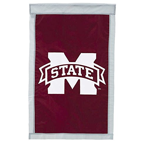 Mississippi State University - 28'' x 44'' Double Sided Appliqued NCAA Banner