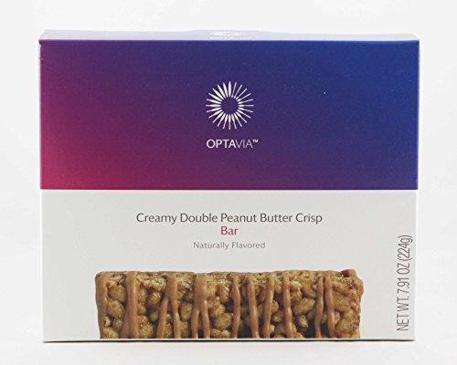 Optavia Creamy Double Peanut Butter Crisp Bar – 7 Servings