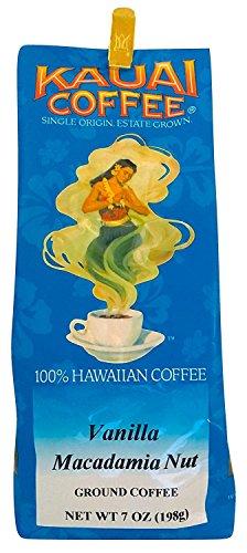 100 Percent Hawaiian Vanilla Macadamia Nut Ground Coffee