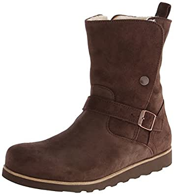 Amazon.com | Birkenstock Women's Magdala Snow Boot, Mocha