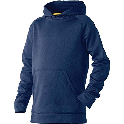 DeMarini Youth Fleece Hoodie, Navy, Large