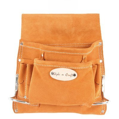 Style n Craft 91-8238 Pocket Suede Tool Pouch by Style N Craft Leathers [並行輸入品] B0186KBMSY