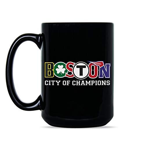 - Boston City of Champions Mug Boston Sports Coffee Mug