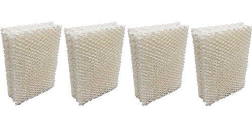 Bryant Split System (Heating, Cooling & Air Humidifier Wick Filter for Emerson Essick Air HDC-12 - 4 Pack)
